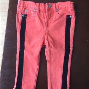 7 FOR ALL MANKIND tuxedo baby jeans - size 12m
